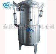 蒸煮锅配有压力表和安全阀
